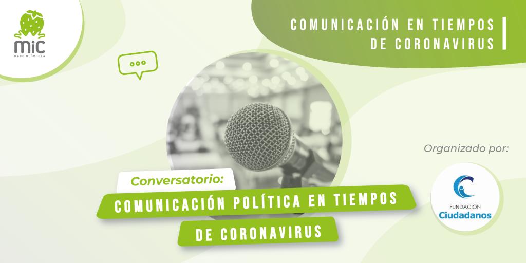 Comunicación política coronavirus